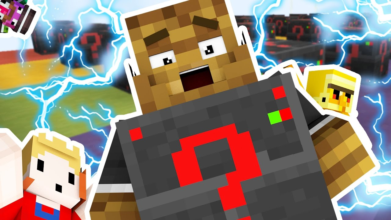 HOW TO CRASH A SERVER Minecraft ELECTRIC LUCKY BLOCK RACE