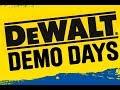 Dewalt Demonstration Days At Toolstation