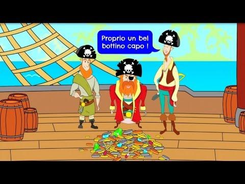 Elisa Pooli - I Pirati - Tratto dall'album CantaAscuola