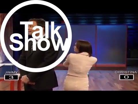 [Talk Shows]Total Iceholes with Christina Ricci and Jimmy Fallon