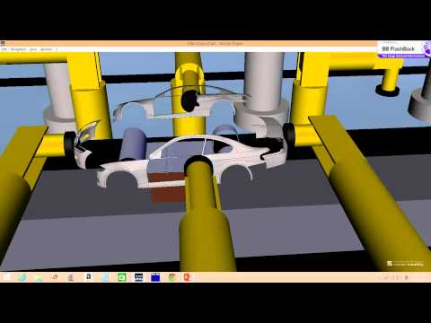 Virtual Automation: Automobile Manufacturing Plant