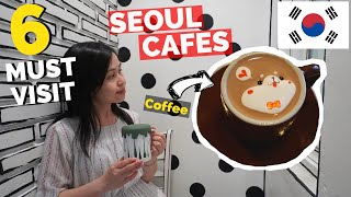 6 BEST Cafes in Seoul to Visit  | Instagram cafes in South Korea