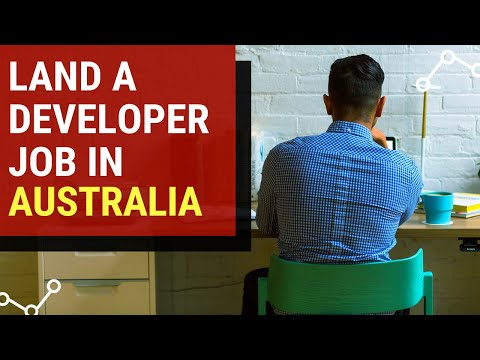 Software Developer In Australia (land A Job As A Foreign Developer Quickly)