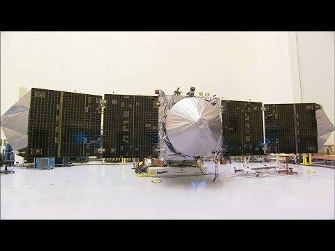 NASA's MAVEN Prepared for Trip to Mars