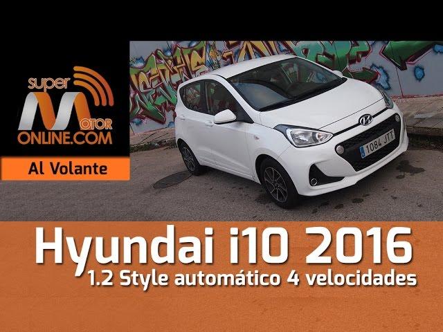 Hyundai i10 2016  / Al volante / Prueba dinámica / Review / Supermotoronline.com