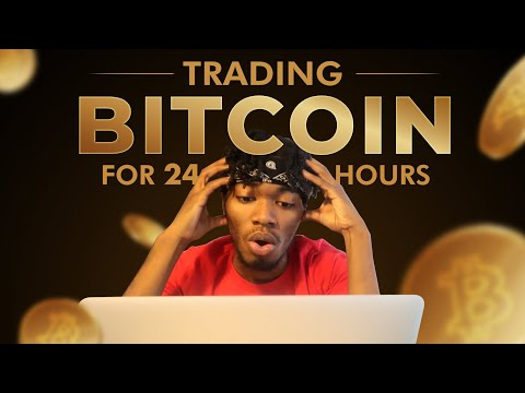 I Tried Day Trading Bitcoin For 24 Hours (Complete Beginner)