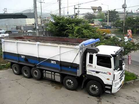 automatic dump truck cover systems youtube