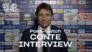 "PARMA 1-2 INTER | ANTONIO CONTE EXCLUSIVE INTERVIEW: ""It was a test of maturity for us"" [SUB ENG]"