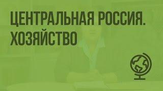 Центральная Россия. Хозяйство. Видеоурок по географии 9 класс