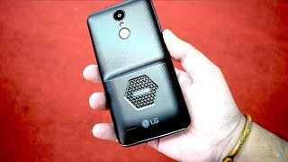LG K7i mosquito away phone hands on review