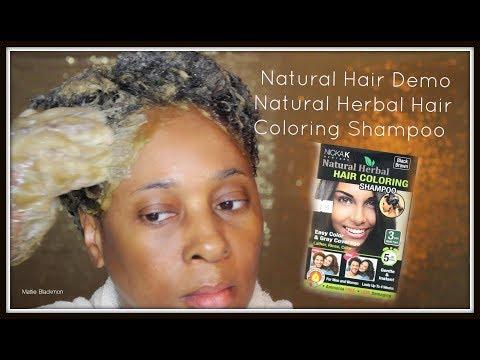 Watch Me Color My Natural Hair Gray Strands | Nicka K