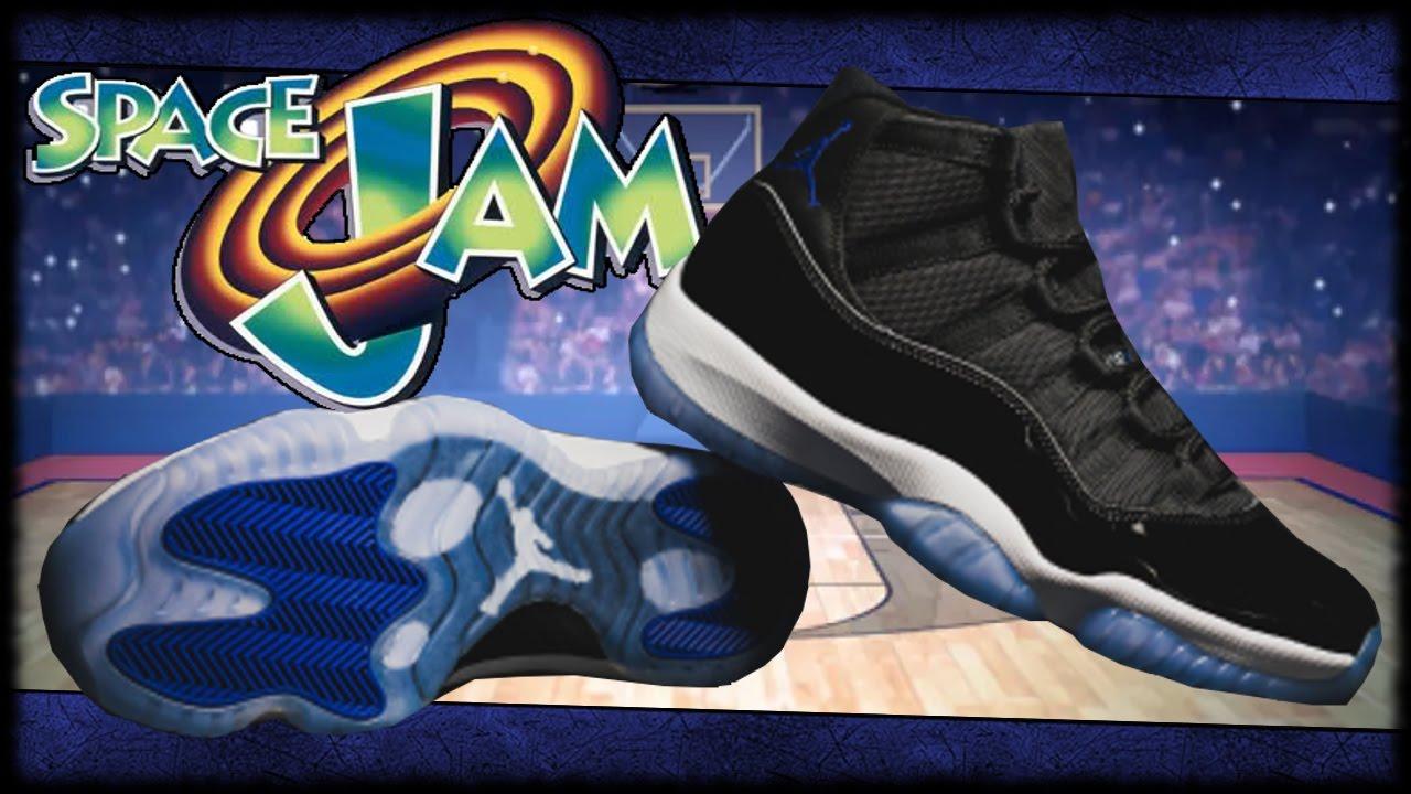 I Copped The Jordan Space Jam 11 s!!! Air Jordan Space Jam 11 ... 8539df302