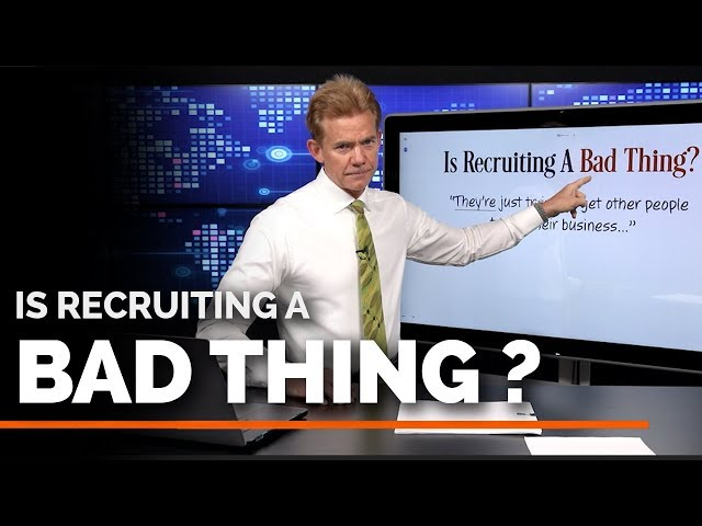 Is Recruiting a Bad Thing?
