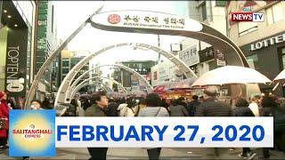 Balitanghali Express: February 27, 2020 [HD]