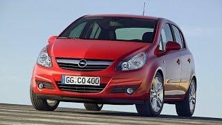 Opel Corsa D 2006 хэтчбек