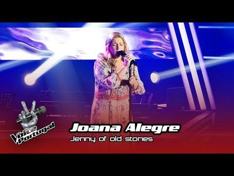 "Joana Alegre - ""Jenny of old stones"" |  Prova Cega | The Voice Portugal"