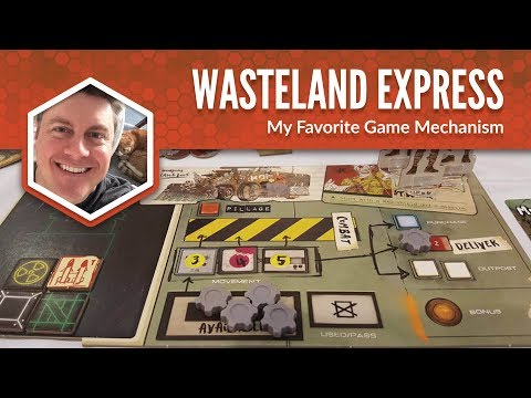 Wasteland Express Delivery Service: My Favorite Game Mechanism