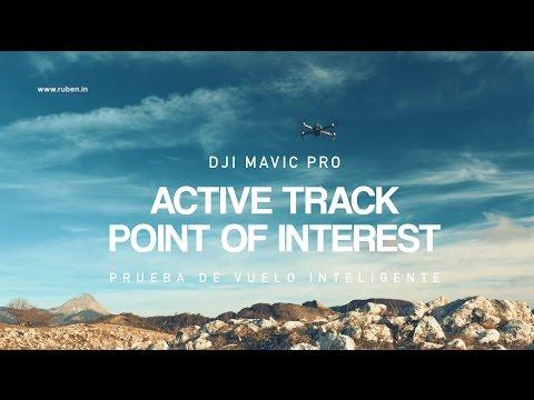 DJI Mavic Pro - Active Track y Point of Interest - Tutorial de modos de vuelo inteligente