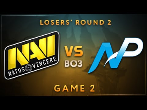 Natus Vincere vs Team NP Game 2 - Dota Summit 7: Losers' Round 2