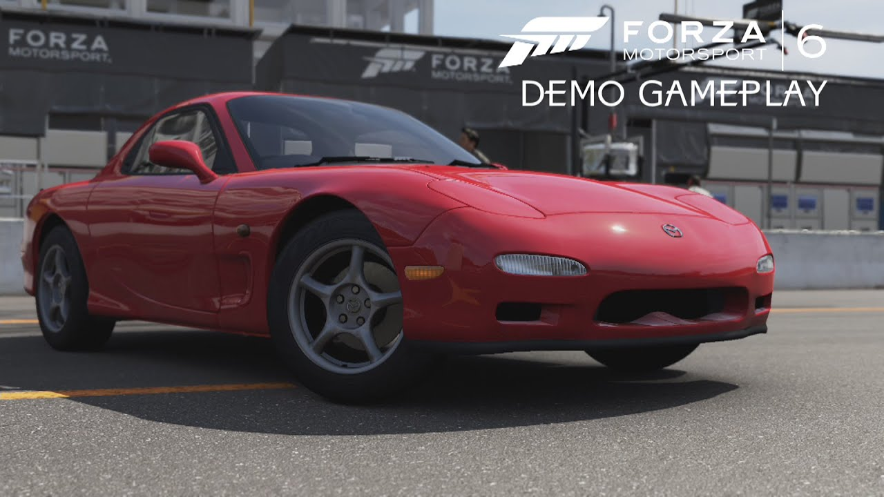 forza motorsport 6 demo 60 fps mazda rx 7 lime rock gameplay youtube. Black Bedroom Furniture Sets. Home Design Ideas