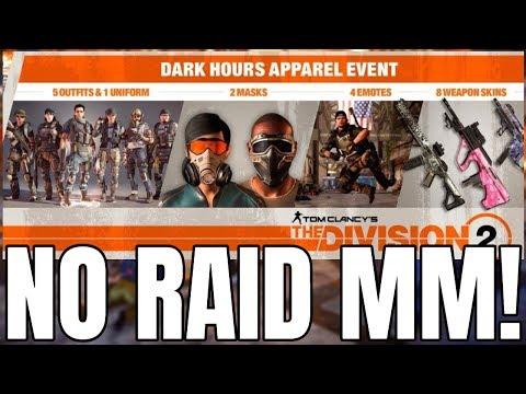 no matchmaking for raids