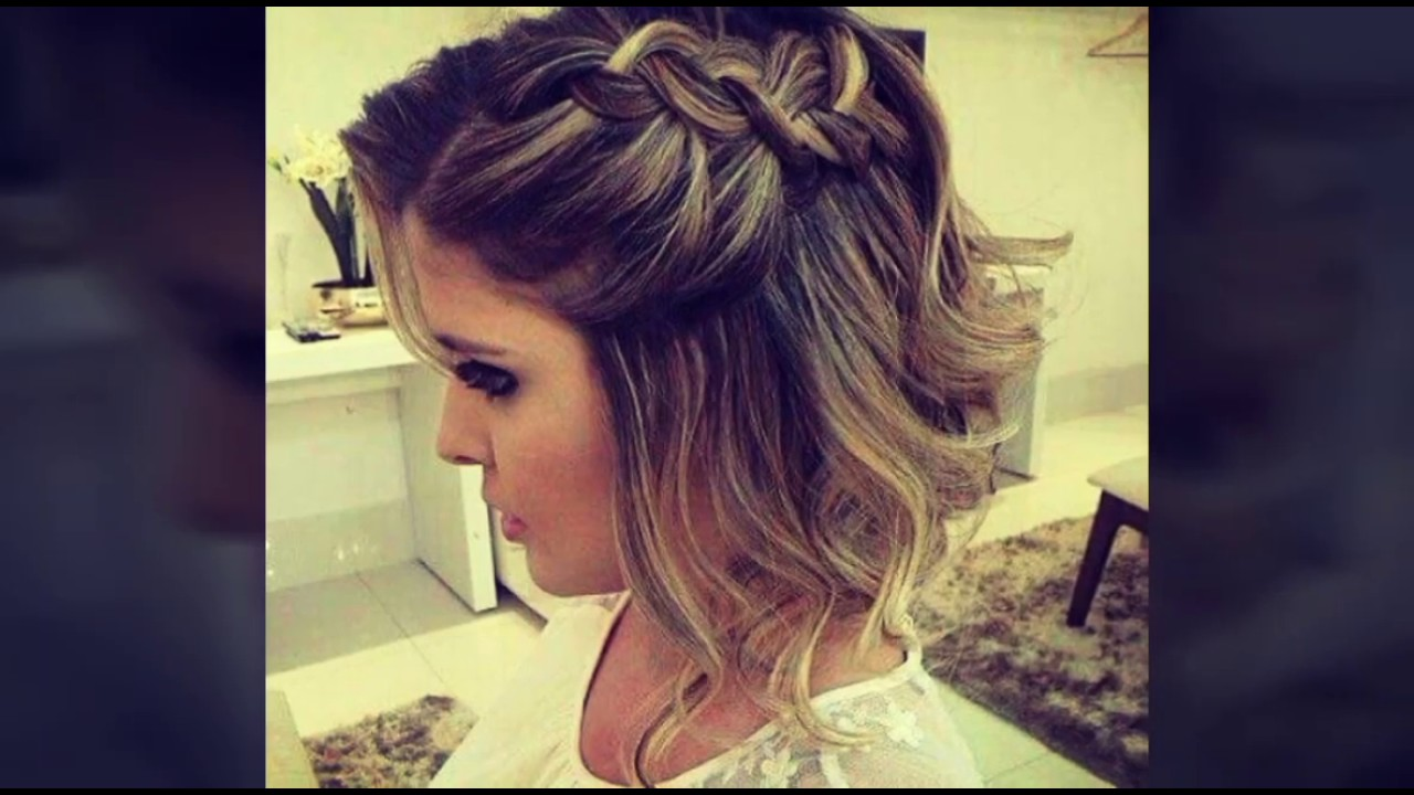 Peinados faciles y bonitos para cabello corto 1 youtube - Peinados faciles y bonitos ...