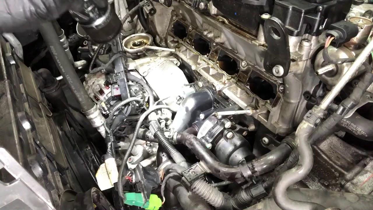 hight resolution of volkswagen tiguan water pump youtube 2010 tiguan engine diagram 2010 tiguan engine diagram