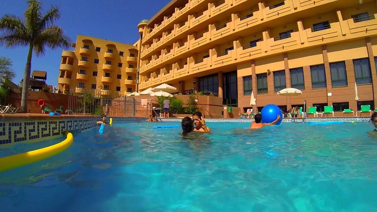 Conoce la piscina del hotel victoria playa youtube for Piscinas vitoria