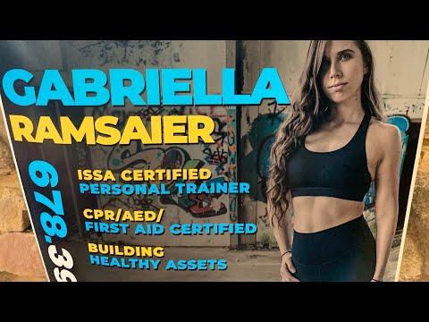 Gabriella Ramsaier Fayettville GA Personal Trainer, YouTuber