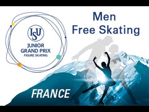 2016 ISU Junior Grand Prix - St. Gervais - Men Free Skate last two groups