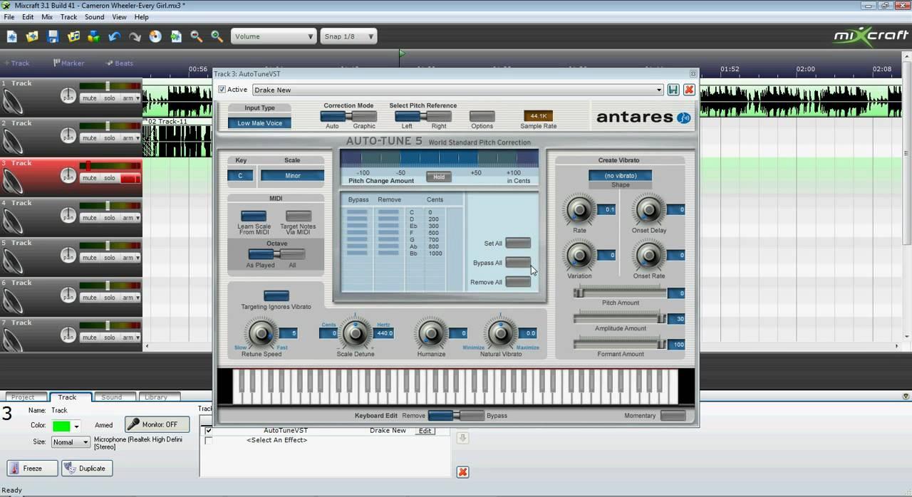 Auto-tune 5 demo