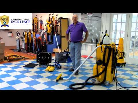 How to Strip VCT Flooring * Clean Up