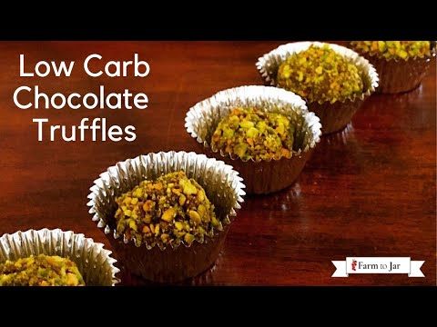 Low Carb or Keto Chocolate Truffles - Summary of Sugar Substitutes