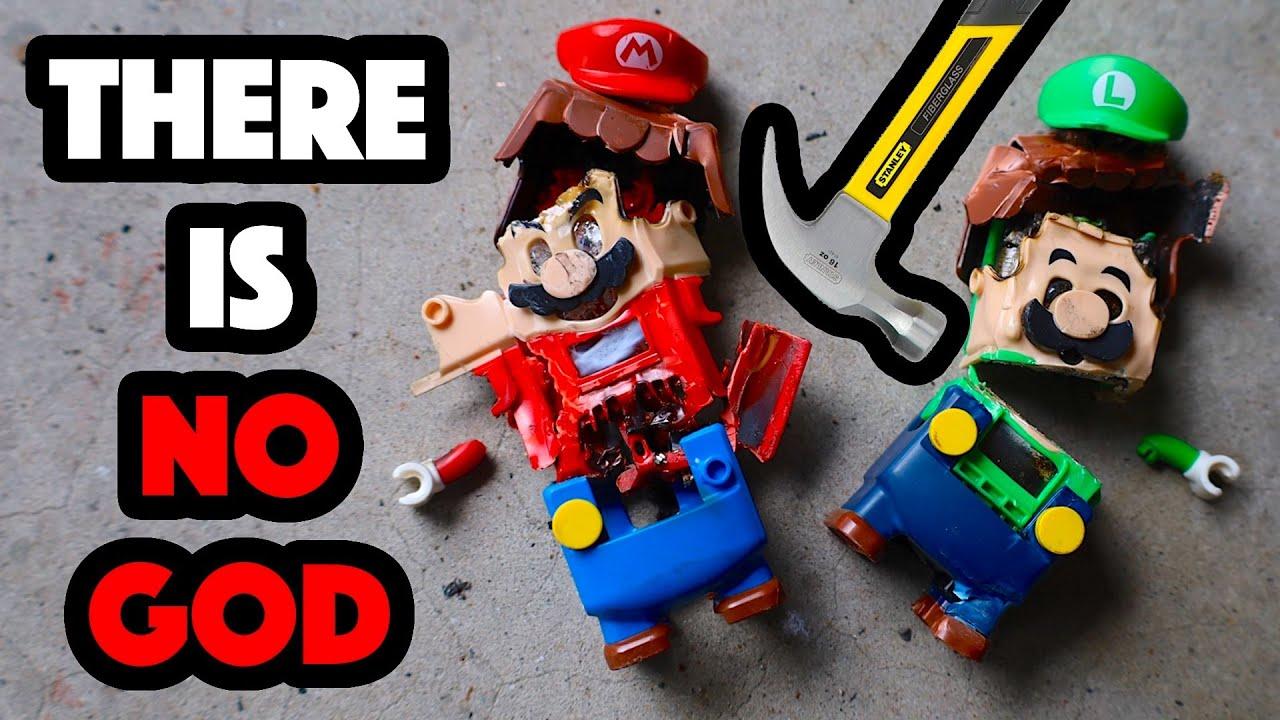Bored Smashing - LEGO MARIO & LUIGI