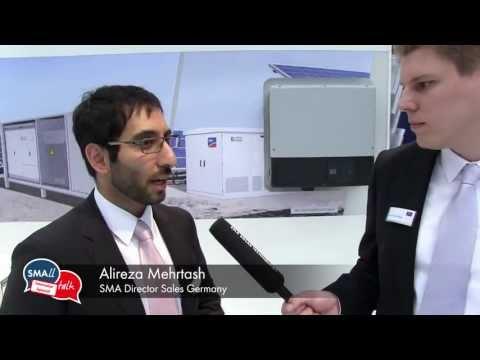 SMAll Talk: Dezentrale Solarparks - Widerspruch oder intelligente Lösung? (Intersolar 2013)