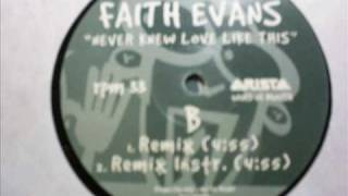 Faith Evans - Love like this remix