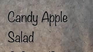 Candy Apple Salad Zero SmartPoints