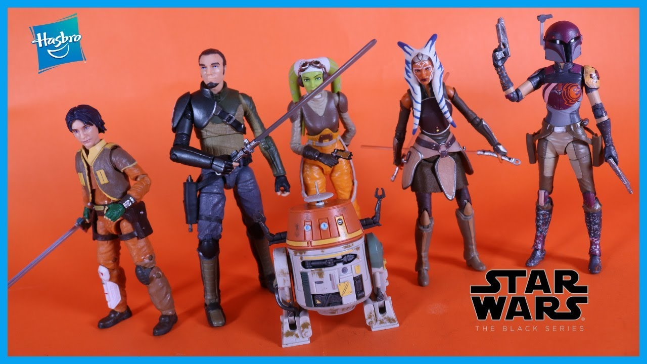"Star Wars Black Series 6/"" REBELS Wave 1 Chopper"