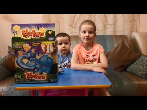 Игра Hasbro Слоник Элефан и светлячки