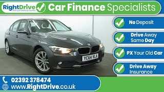 CAR FINANCE Specialists - BMW 3 Series 320D SE