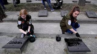 видео: Уборка захоронении погибших воинов - сибиряков на Заельцовском кладбище бойцами