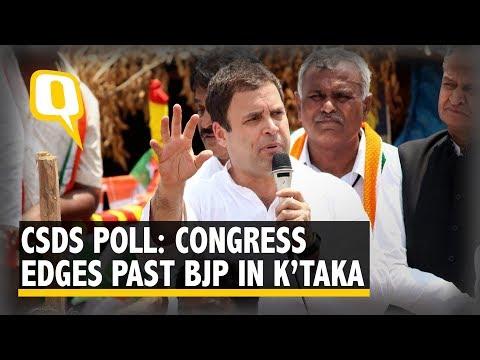 ABP News-Lokniti CSDS Poll: Congress Moves Ahead of BJP in Karnataka