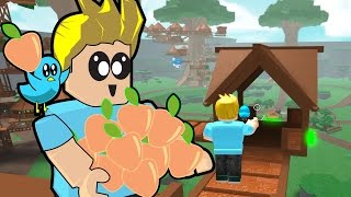 Roblox / Treehouse Tycoon Part 4 / Picking Peaches / Gamer Chad Plays