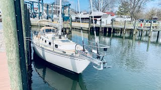 The Sea Trial of a Great Sailboat - Cape Dory 36