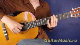 Iron Man — как играть на одной струне — Простые мелодии для гитары