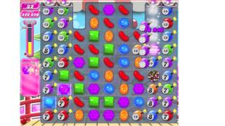 Candy Crush Saga Level 374 ★★★ no boosters (TUTORIAL)