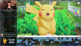 Pokémon Let's Go, Pikachu! - Any% Speedrun in 3:08:49 [Current World Record]