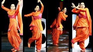 Bhangra in China by Mrs. India Globe 2013, Bir Kaur Dhillon