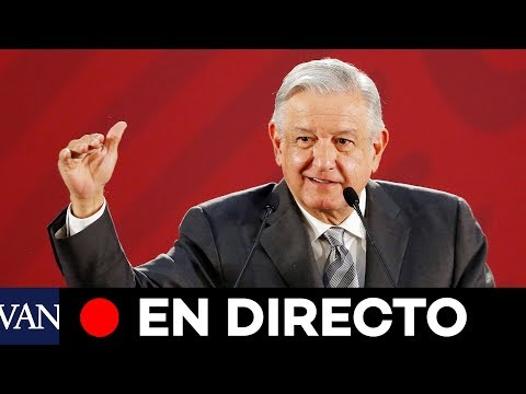 [EN DIRECTO] Conferencia matinal de Andrés Manuel López Obrador (AMLO)