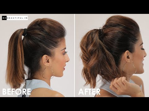 how-to-add-volume-to-your-ponytail-|-5-step-hair-tutorial-for-perfect-ponytail-|-be-beautiful